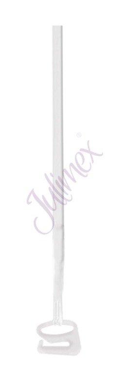 Ramiączka silikonowe Julimex 4 mm transparentne